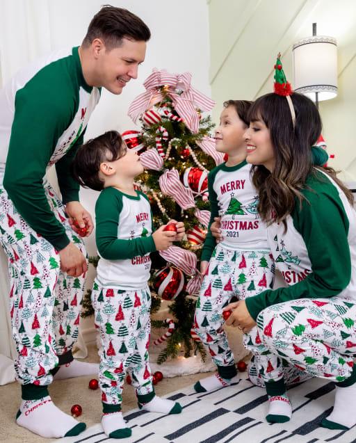 Matching Family Pajamas - Christmas Tree Collection