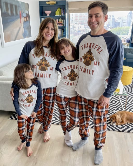 Matching Family Pajamas - Thanksgiving Collection