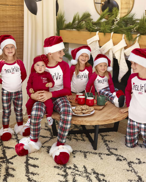 Matching Family Pajamas - Believe Collection