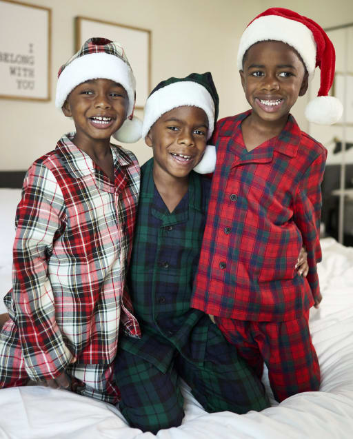 Matching Family Pajamas - Plaid Flannel Collection