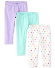 Pack of 2 The Childrens Place Girls Cropped Leggings