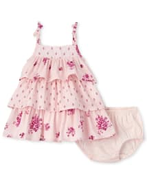 The Childrens Place Baby Girls Sleeveless Nightgown
