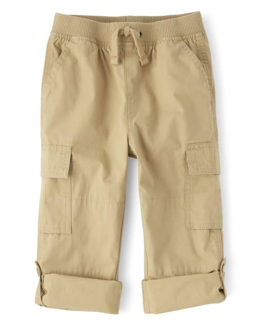 M/&S/&W Mens Casual Cotton Camo Cargo Shorts Elastic Waist