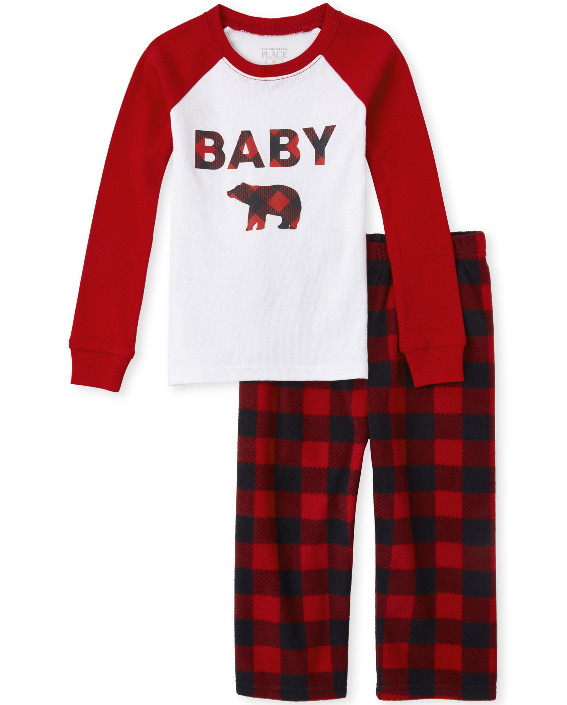 Suit 6-24 Months CZDedgQ99 Toddler Eat Sleep Hockey Repeat Long Sleeve Climbing Clothes Pajamas Sleepwear