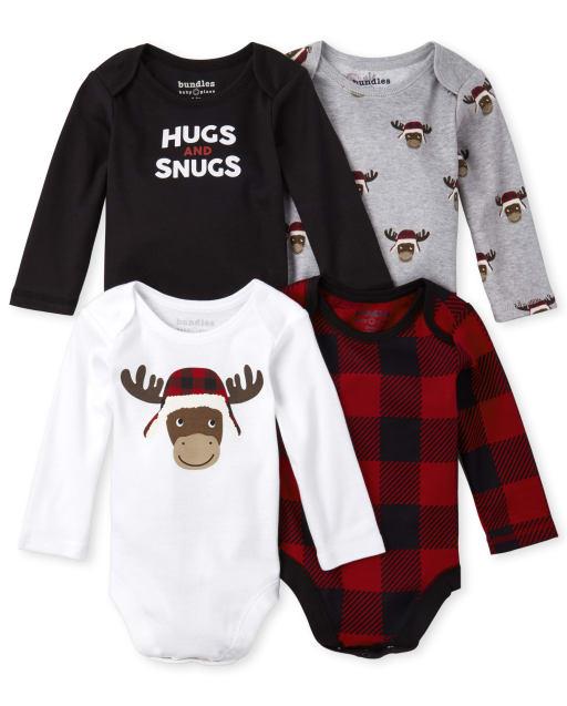 The Childrens Place Girls Long Sleeve T-Shirt 2 Pack Bundle Set