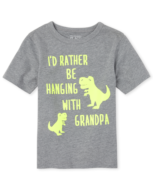 My Pawpaw Loves Me More Than Burgers Toddler//Kids Short Sleeve T-Shirt