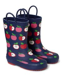 7 8; CH-9-3 Childrens Smoky Mountain Round Up Rain Boots; Artist Collection Series T