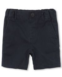 The Childrens Place Boys Stretch Chino Shorts