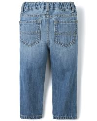 The Childrens Place Boys Basic Straight Jeans