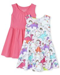 The Childrens Place Girls Knit Sleeveless Top