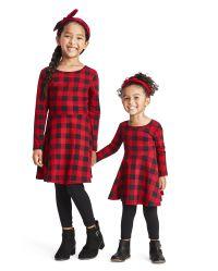 Filles Enfants Gris Velours Robe Patineuse Avec Satin Haussement Joint 3 To 13 Yr