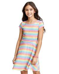 Hair Clip 6M-5T Dcohmch Toddler Baby Girl Casual Dress Long Sleeve Corduroy Ruffle Fall Winter Tunic Dresses