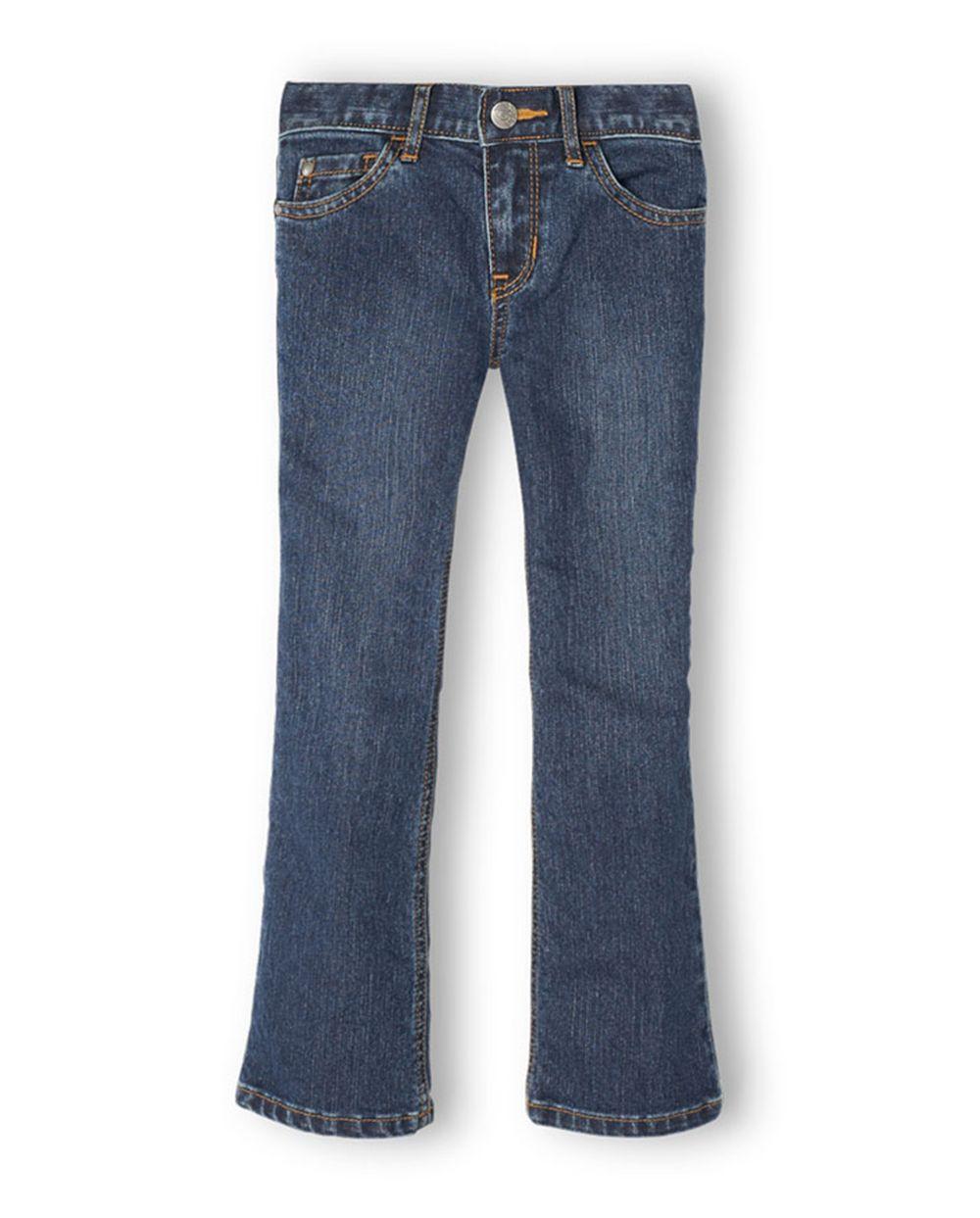 Cheap Girls Basic Bootcut Jeans