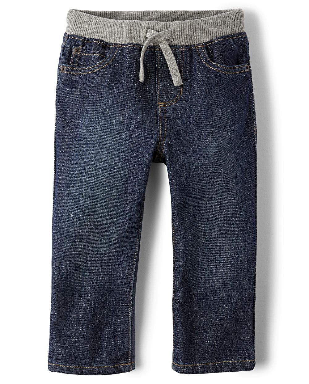 Compare Baby And Toddler Boys Pull On Straight Jeans