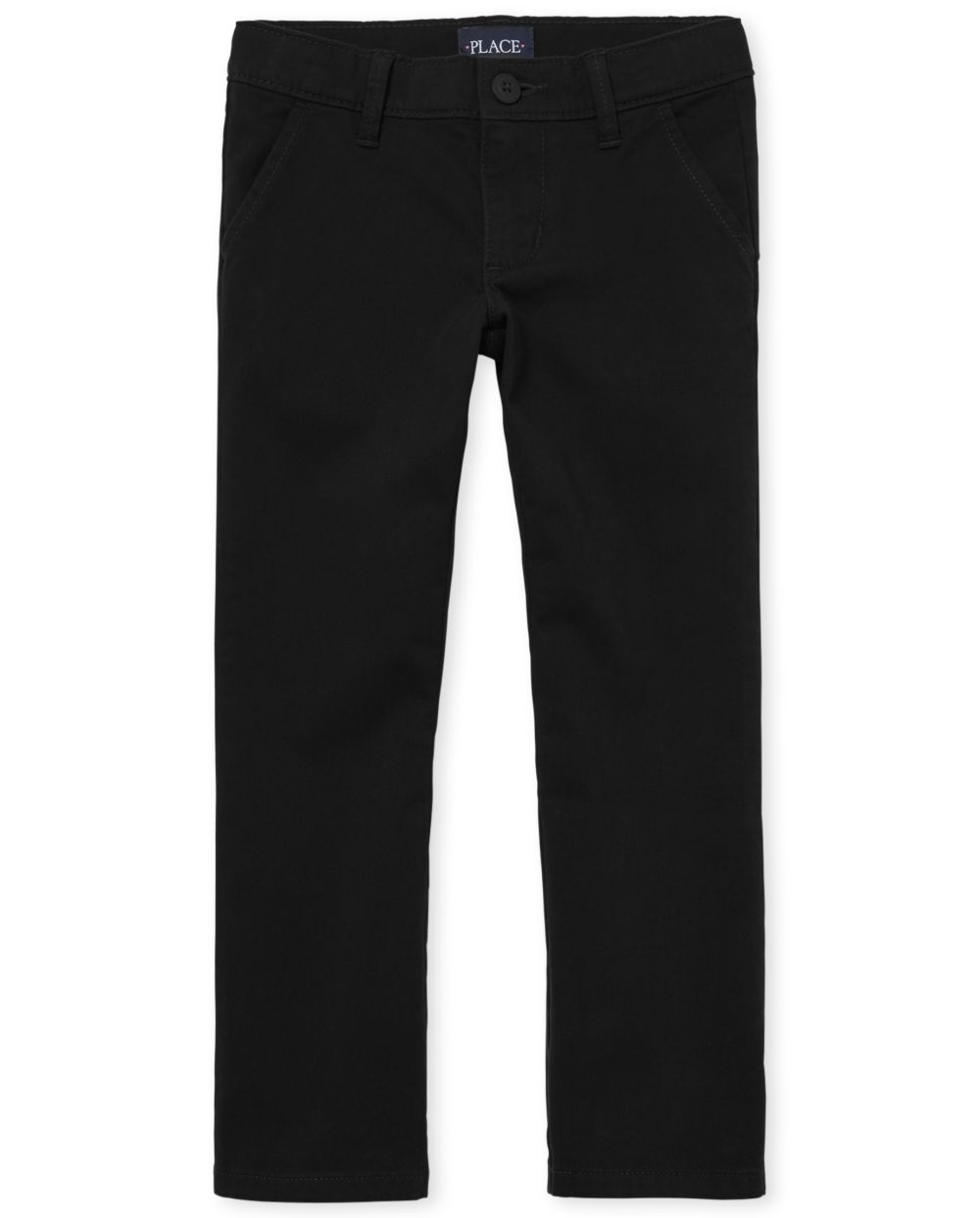Promos Girls Uniform Bootcut Chino Pants