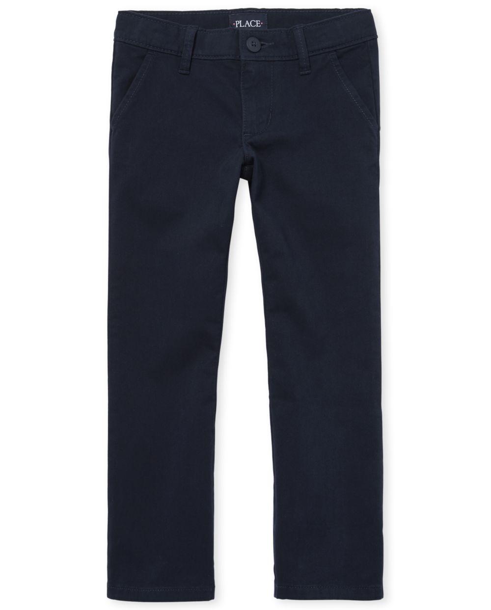 Coupons Girls Uniform Bootcut Chino Pants