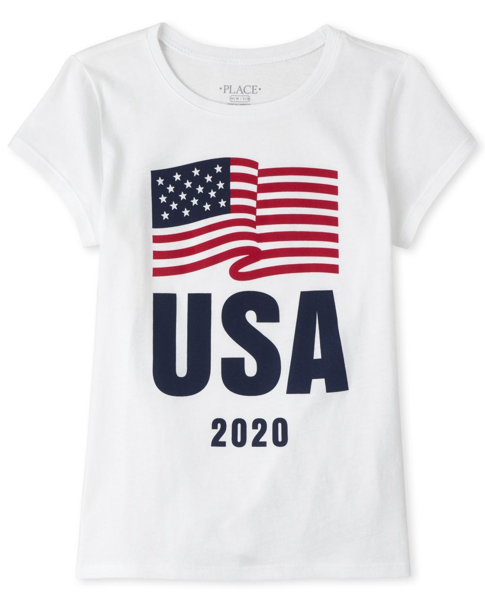 Matching Family Usa Olympics Graphic Tee - White T-Shirt