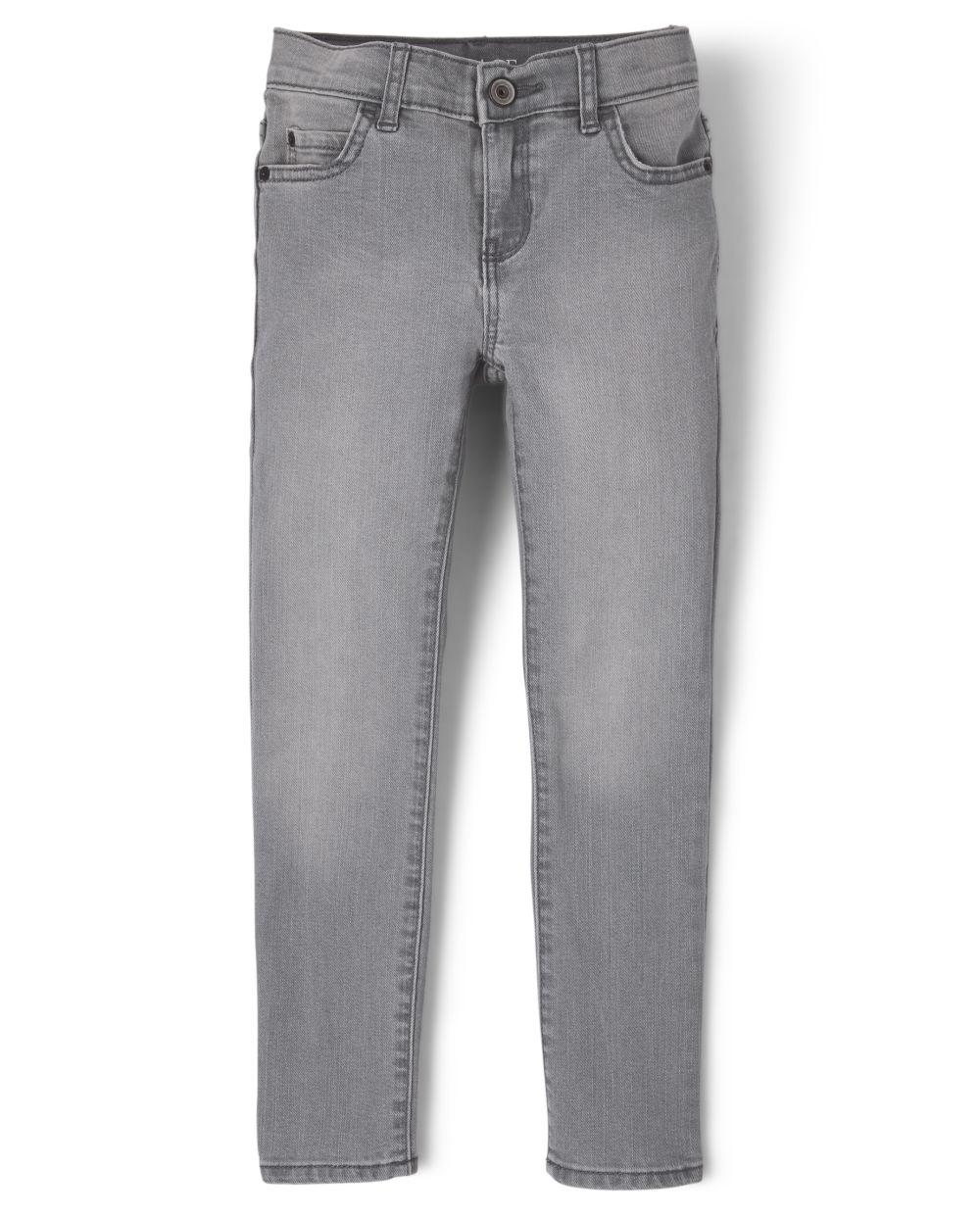 s Boys Basic Stretch Skinny Jeans - Denim - The Children's Place