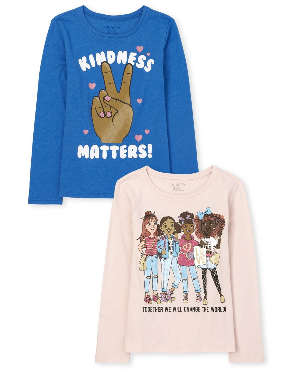 Kindness Squad Graphic Tee 2-Pack - Multi T-Shirt