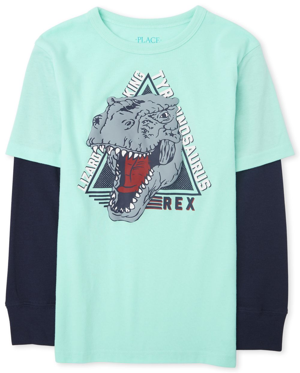 Boys Graphic Thermal 2 In 1 Top - Green
