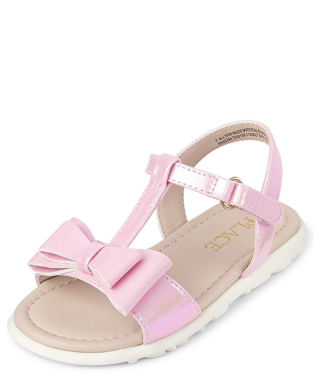 Toddler Bow Sandals - Pink
