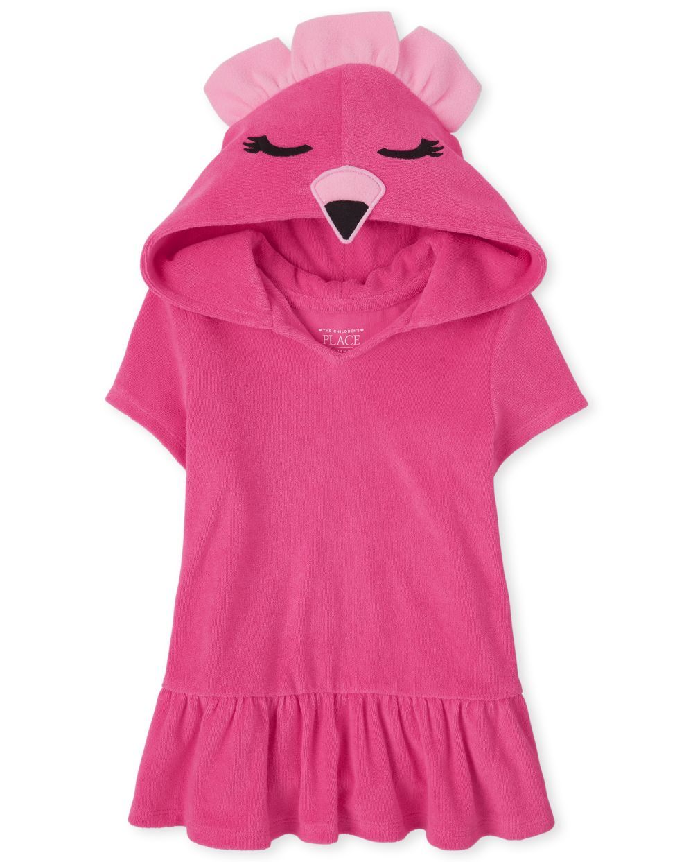 Baby And Toddler Flamingo Cover Up - Pink