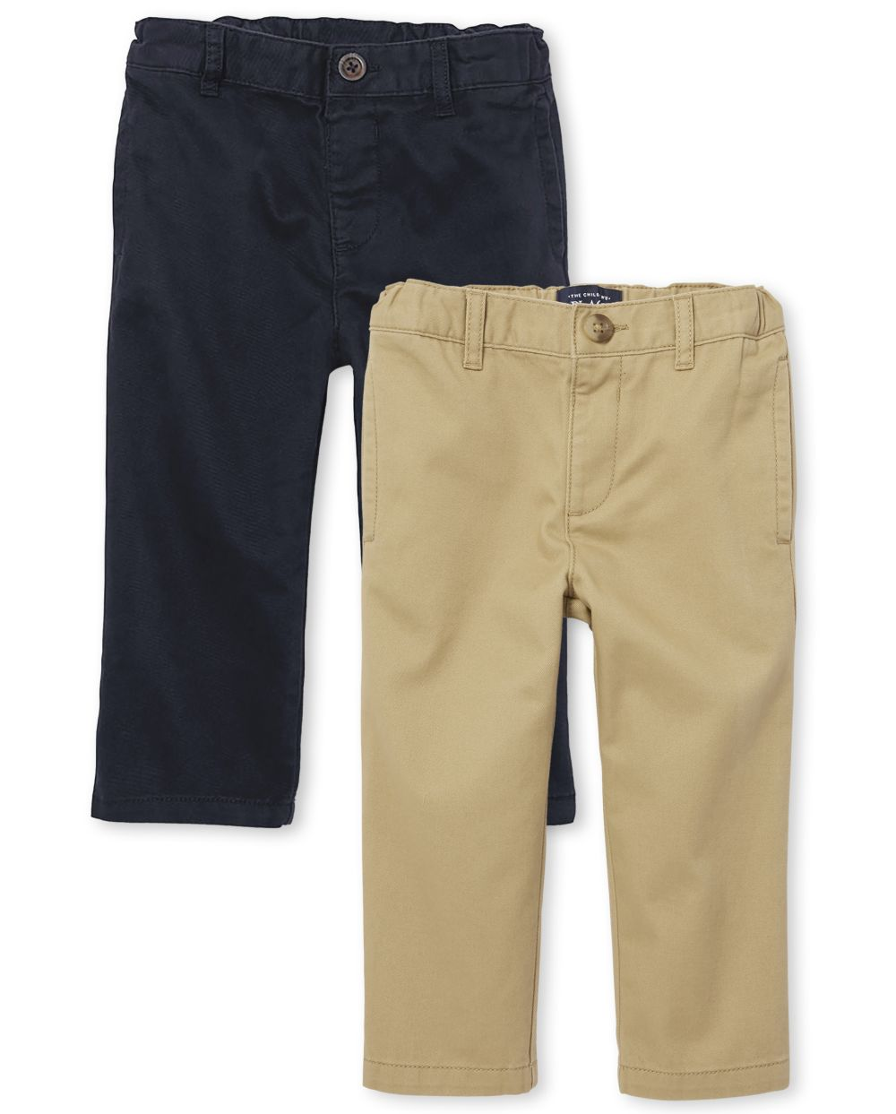 Baby And Toddler Boys Stretch Skinny Chino Pants 2-Pack - Multi