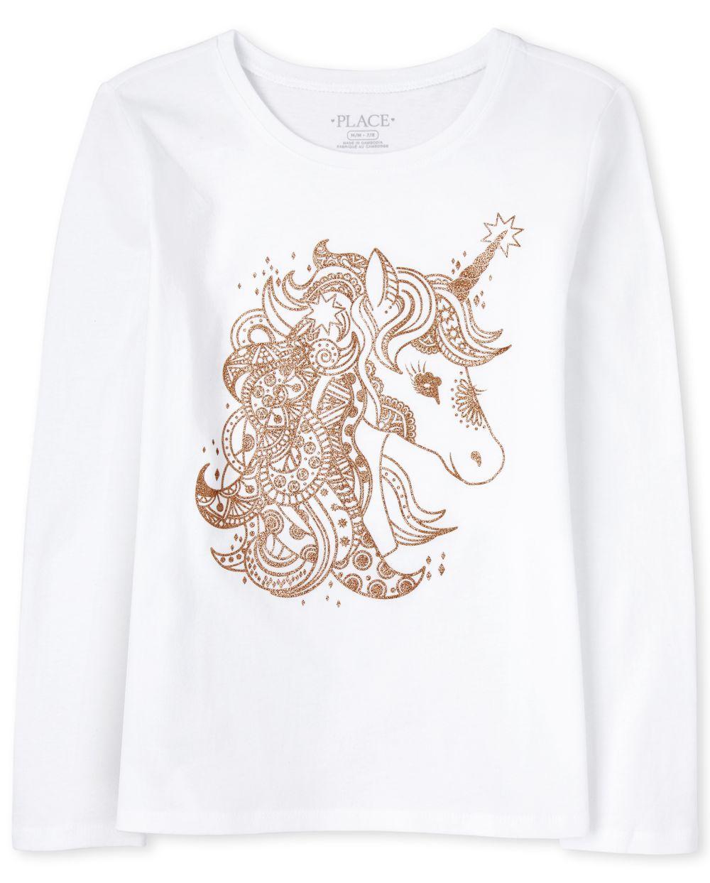 Unicorn Graphic Tee - White T-Shirt