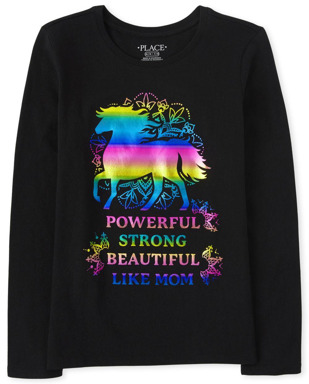 Like Mom Graphic Tee - Black T-Shirt