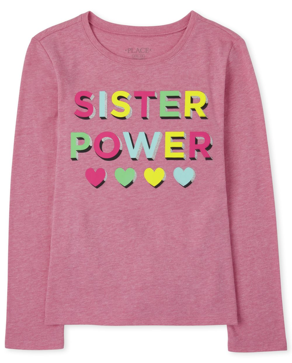 Sister Power Graphic Tee - Pink T-Shirt