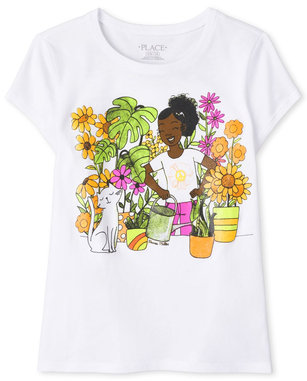 Gardening Graphic Tee - White T-Shirt
