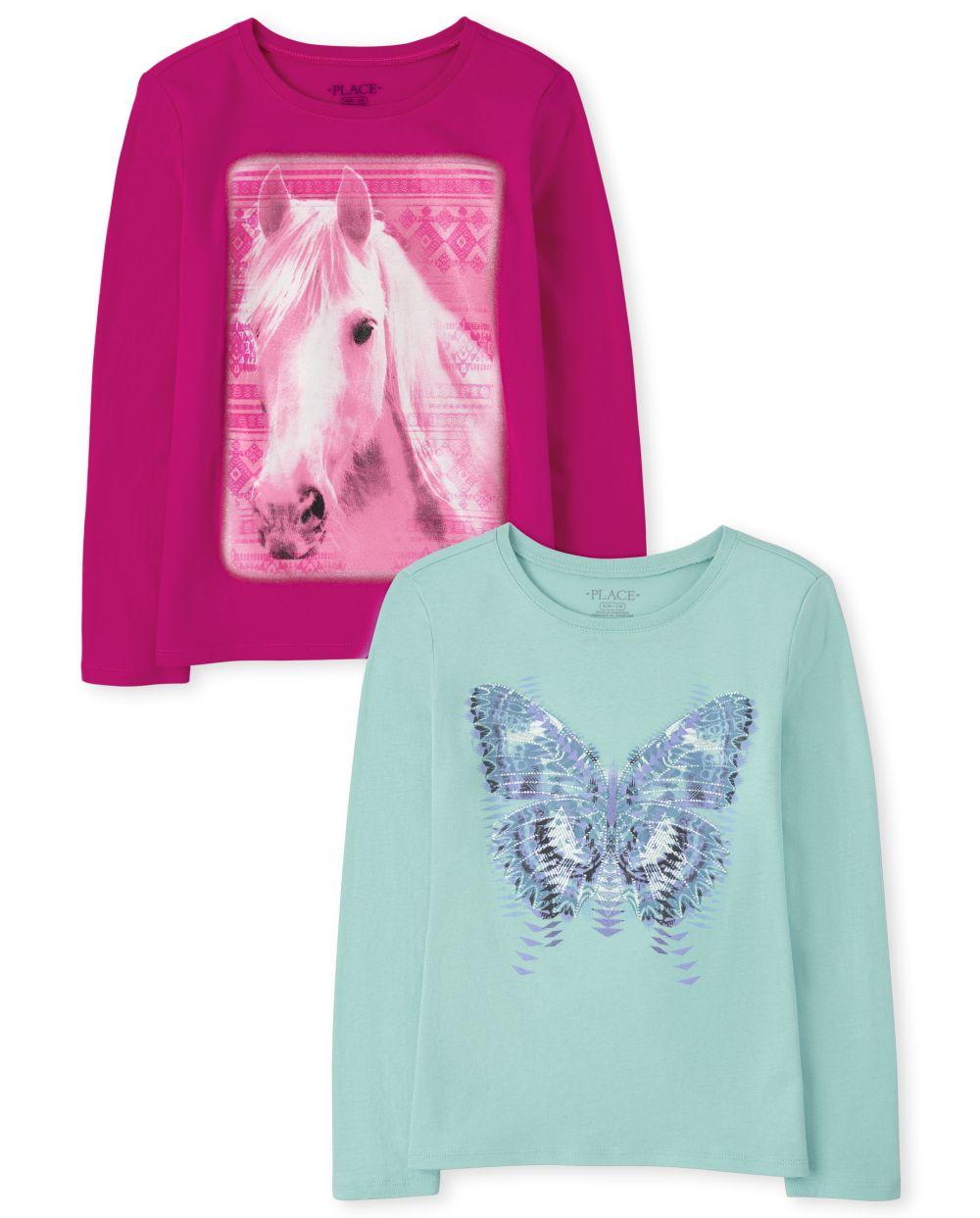 Animals Graphic Tee 2-Pack - Multi T-Shirt