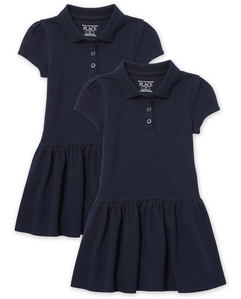 Toddler Dress With Ruffles