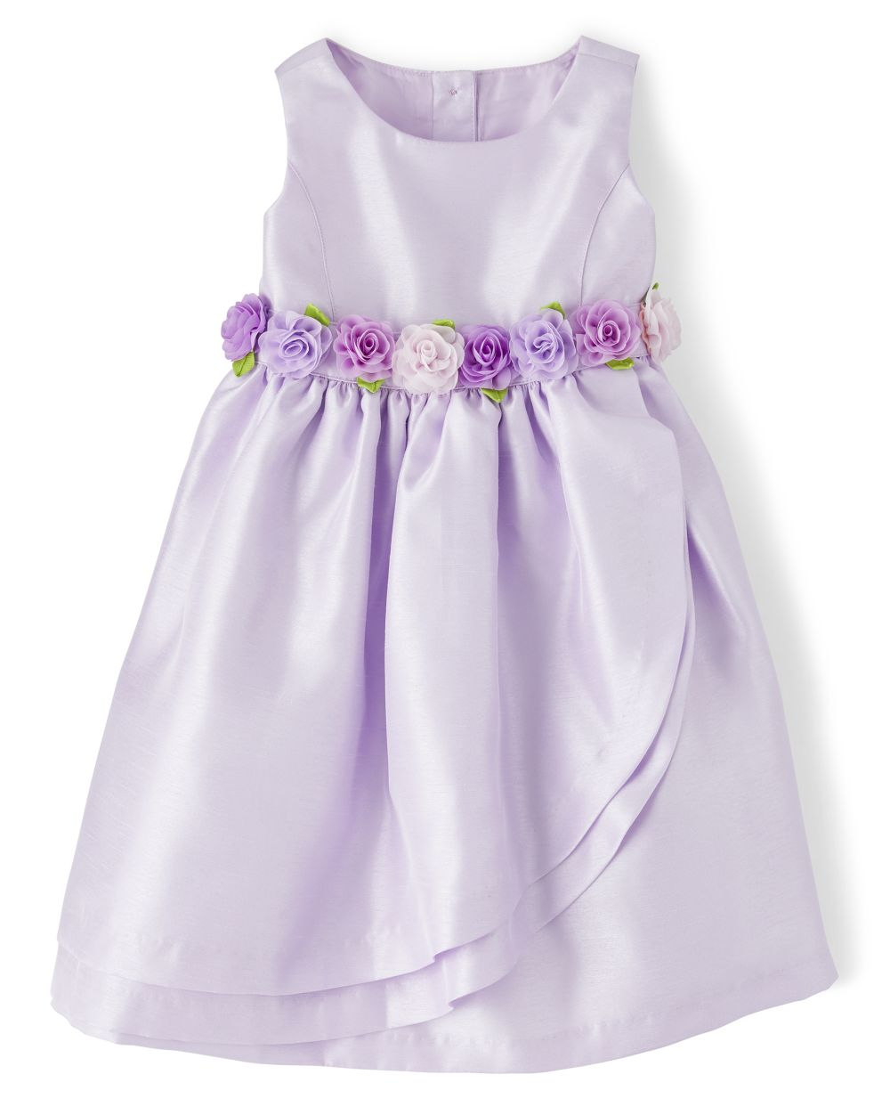 Girls Flower Applique Dress - Spring Jubilee