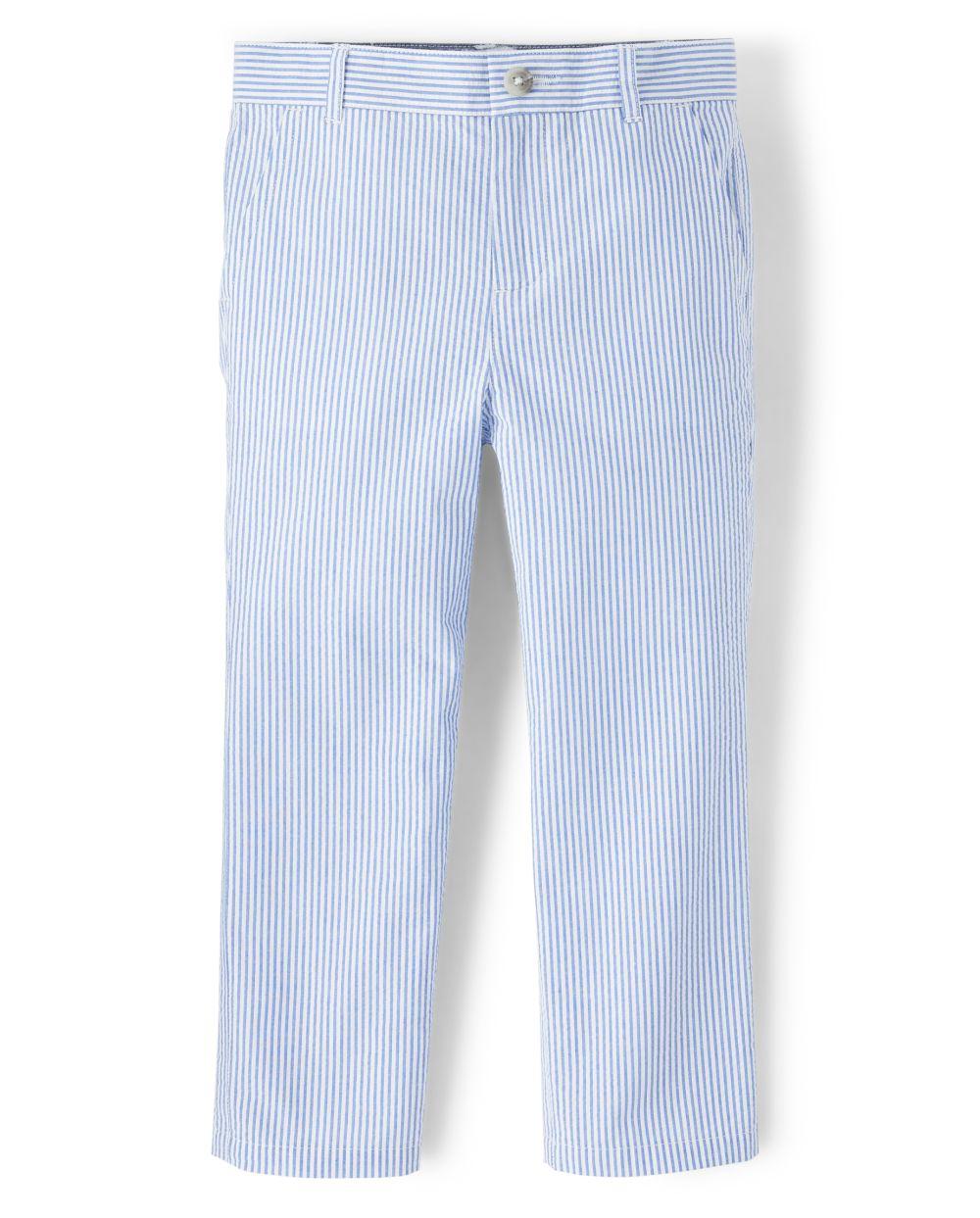 Boys Seersucker Pants - Spring Jubilee