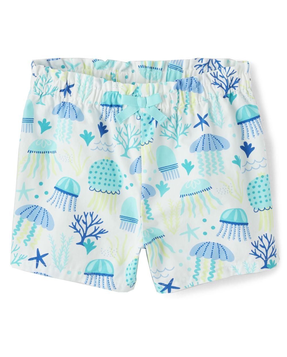 Girls Jellyfish Shorts - Under The Sea