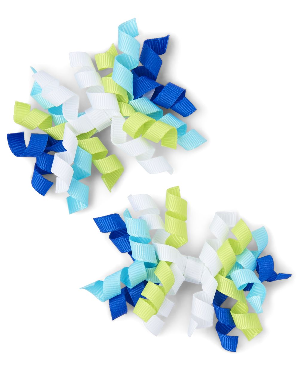 Girls Curly Hair Clips - Under The Sea