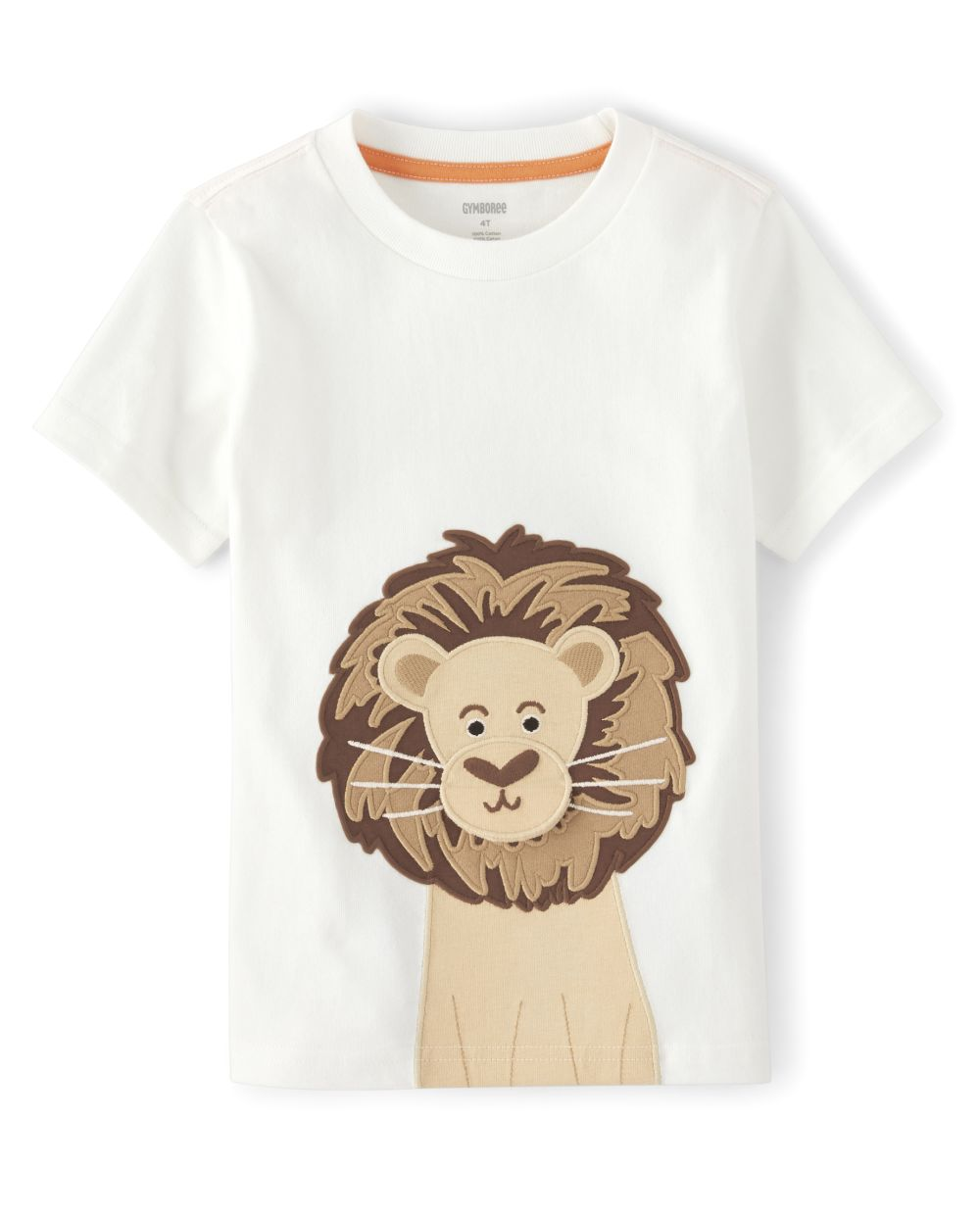 Boys Peek-A-Boo Lion Top - Summer Safari