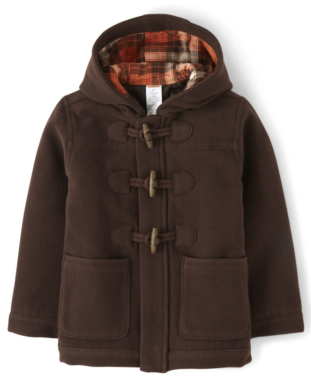 Boys Toggle Jacket - Harvest