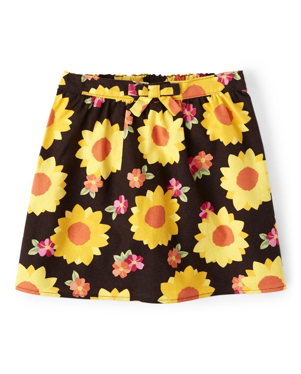 Girls Sunflower Skort - Harvest