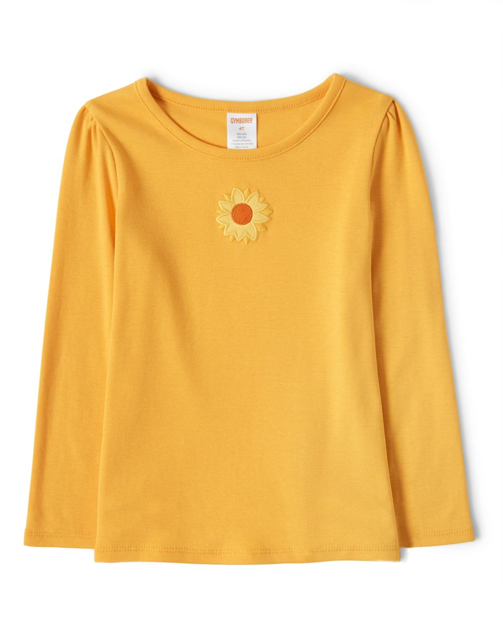 Girls Sunflower Top - Harvest