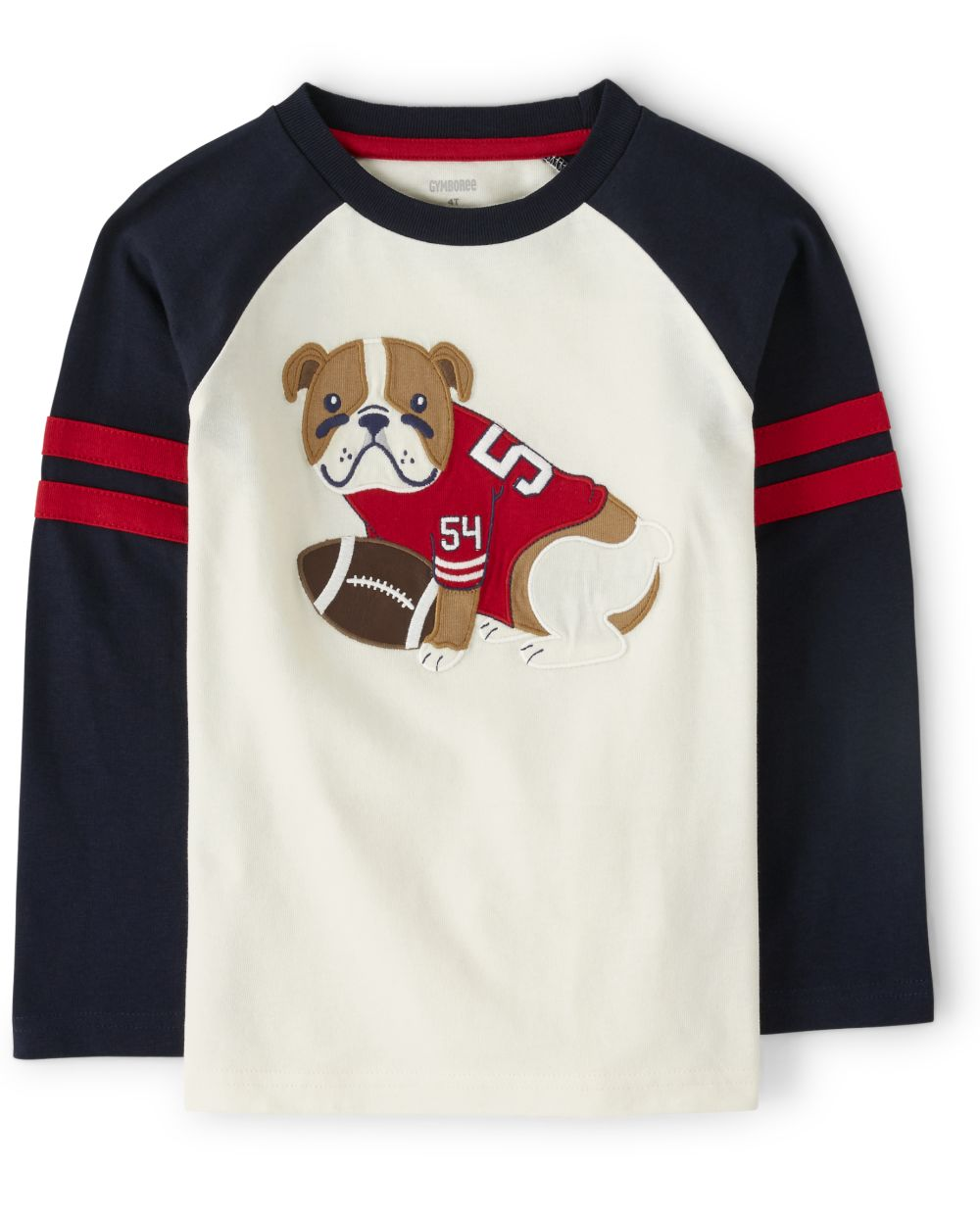 Boys Bulldog Top - Preppy Puppy