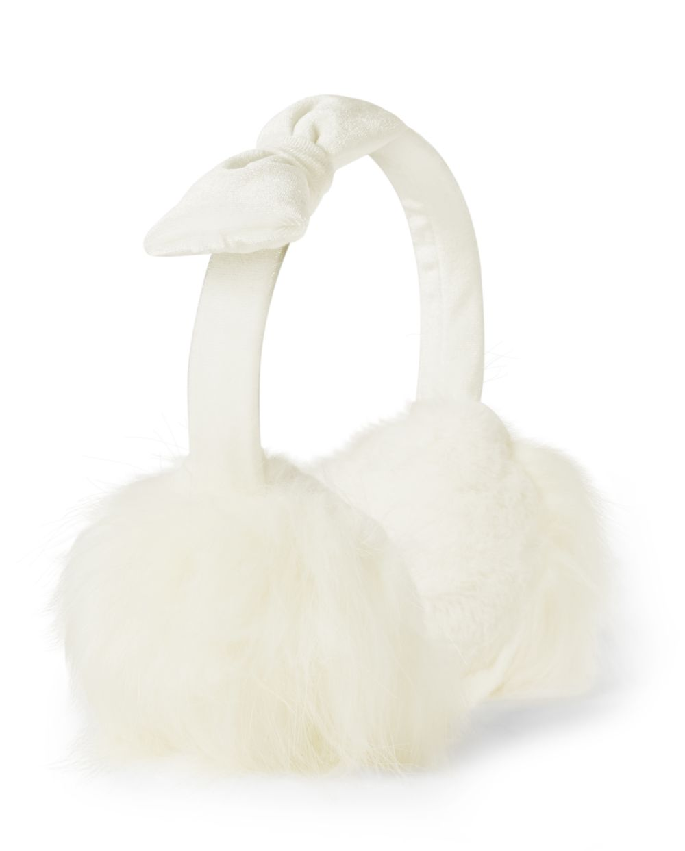 Girls Faux Fur Ear Muffs - Picture Perfect