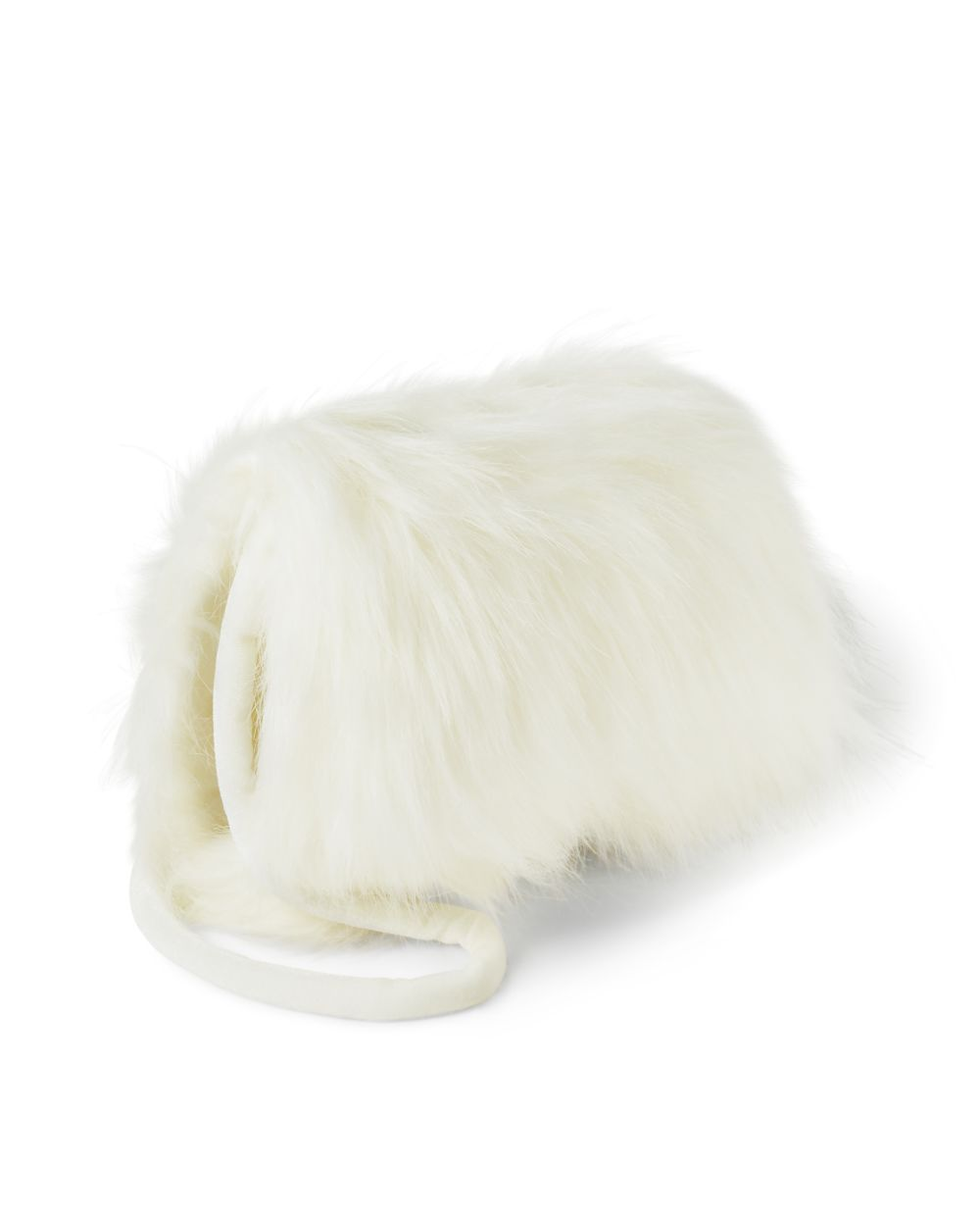 Girls Faux Fur Muff Bag - Picture Perfect
