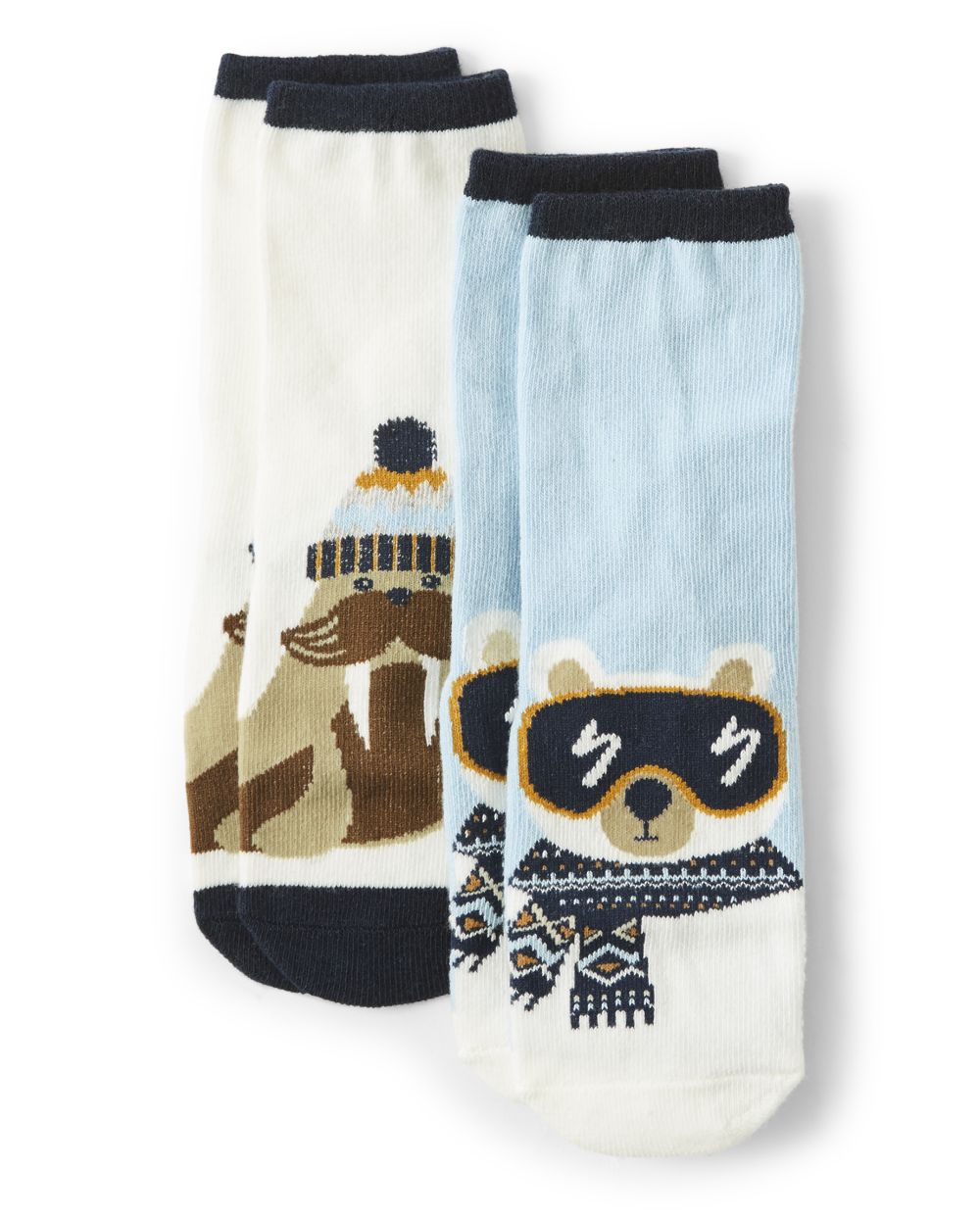 Boys Crew Socks - Aspen Lodge