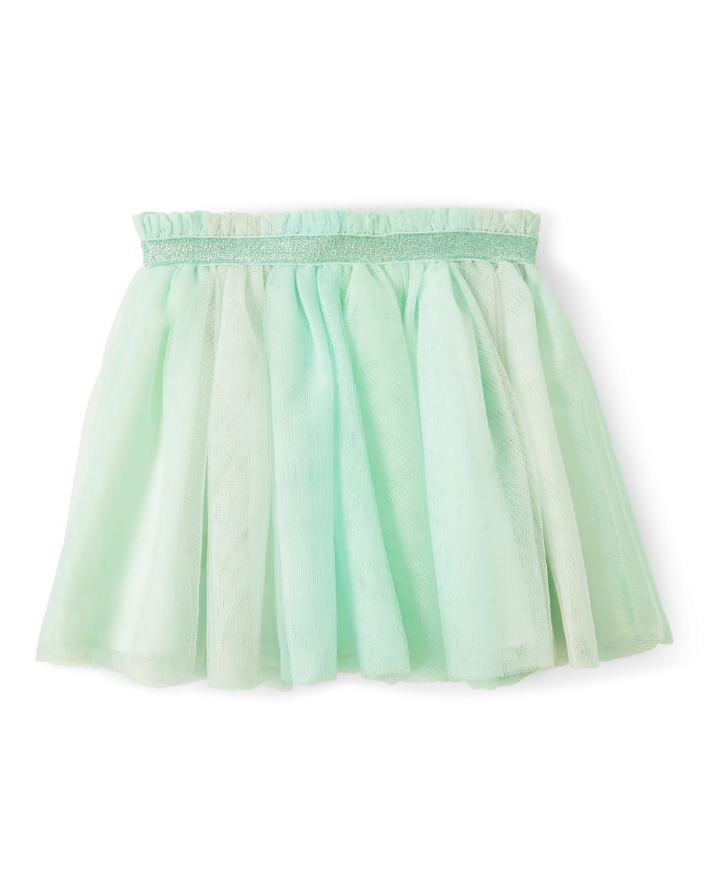 Girls Sparkle Tulle Skirt - Snow Princess