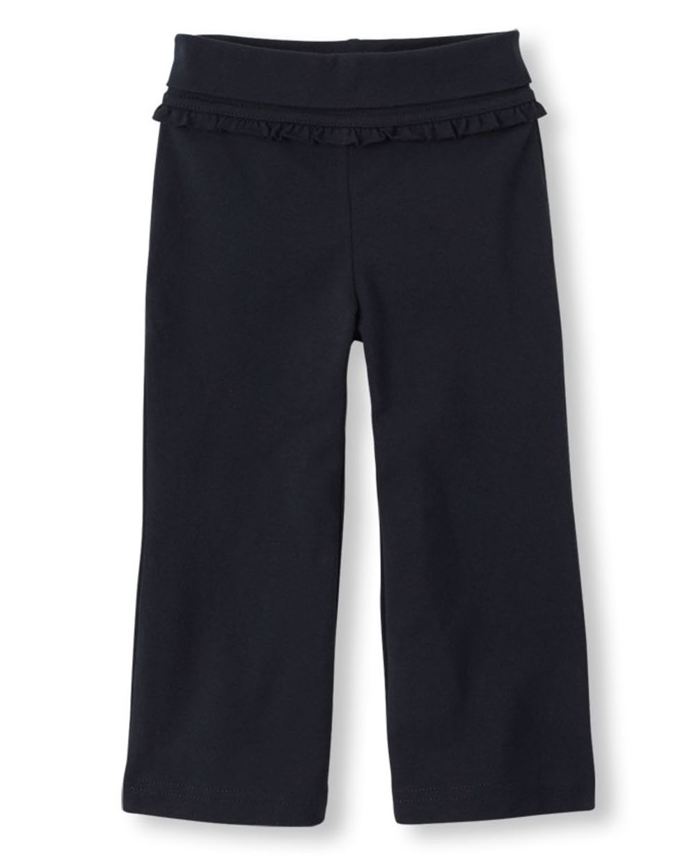 Baby And Toddler Girls Active Foldover Waist Pants