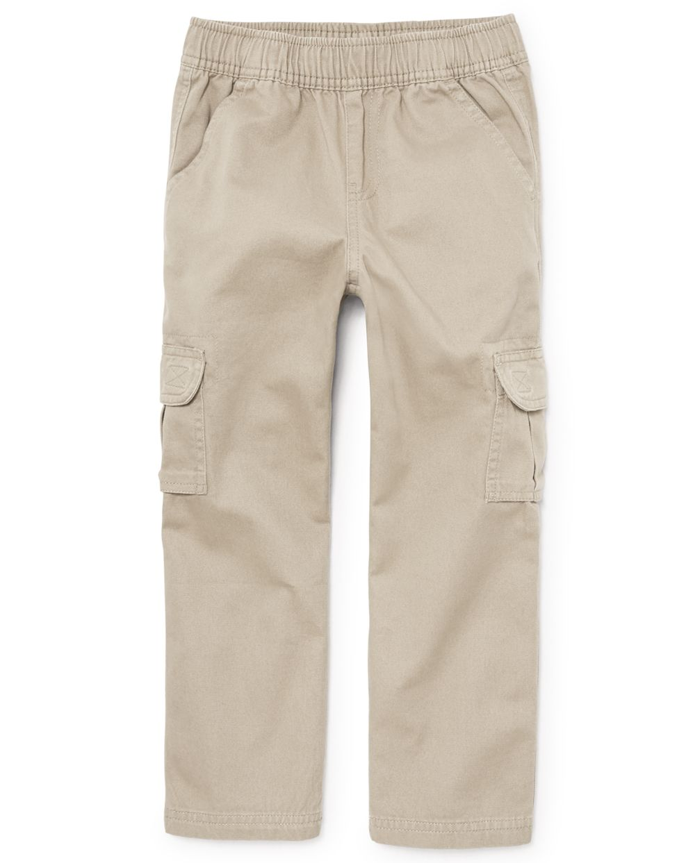 Boys Uniform Pull On Chino Cargo Pants