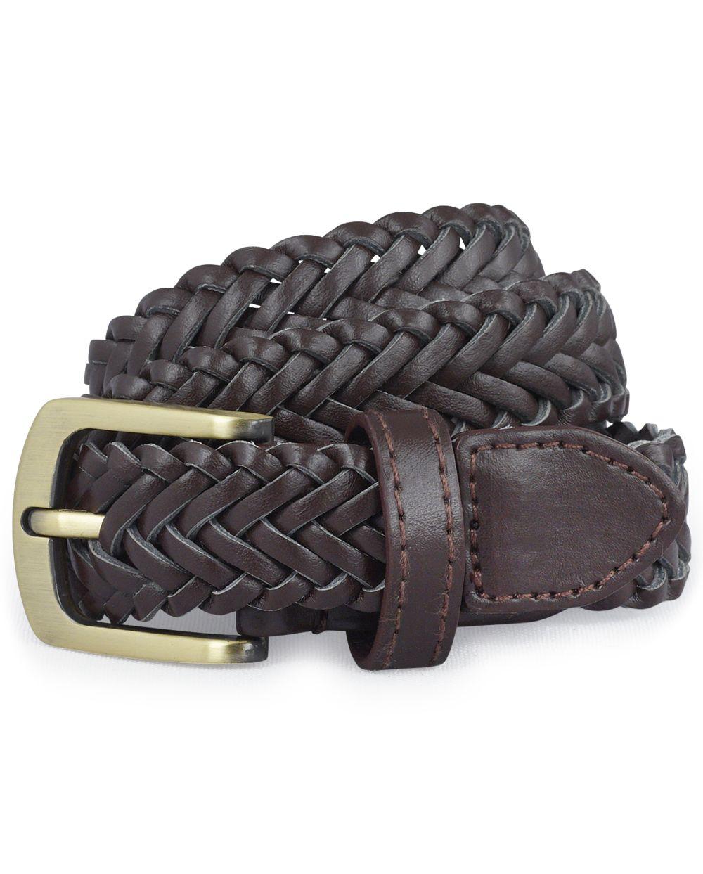 Cinturón trenzado uniforme para niños pequeños