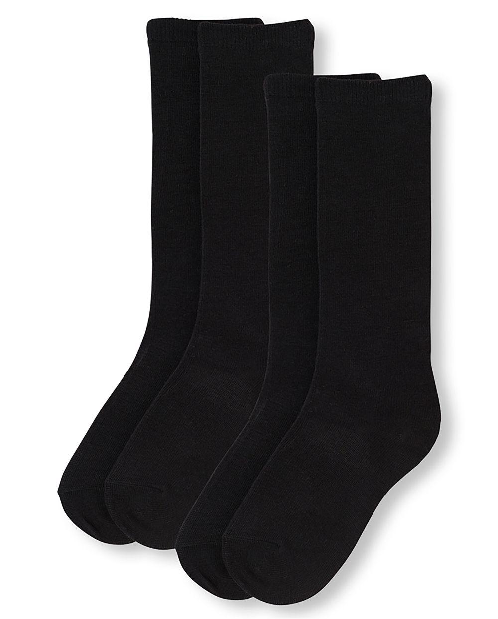 Girls Uniform Knee Socks 2-Pack